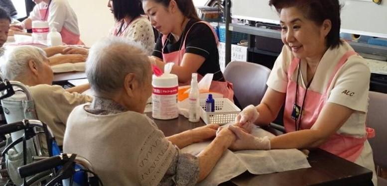 日本エステティック協会 熊本地区ボランティア活動